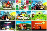 """9 """"Angry Birds"""" Magnets Collection"""