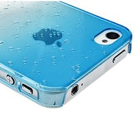 Transparent Case for iPhone 3D Water-drop